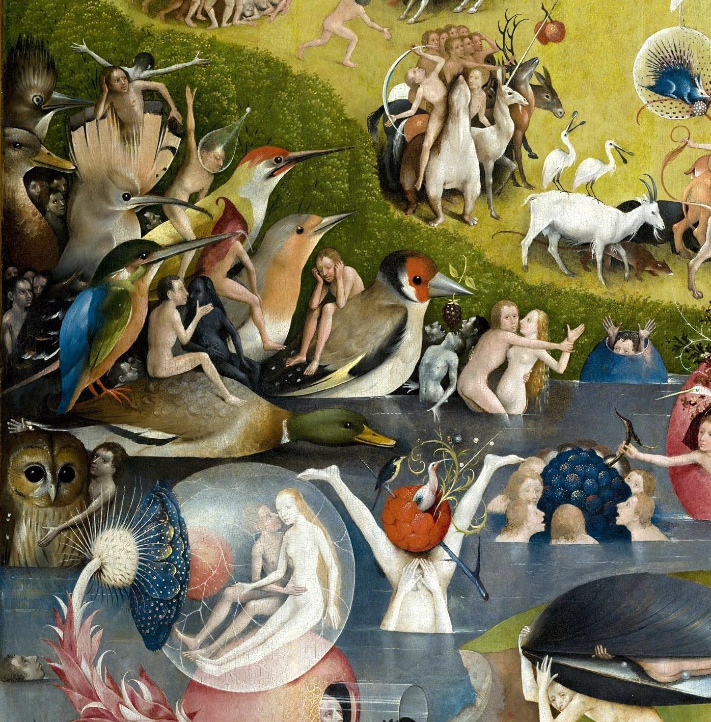 Bosch Birds Earthly Delights